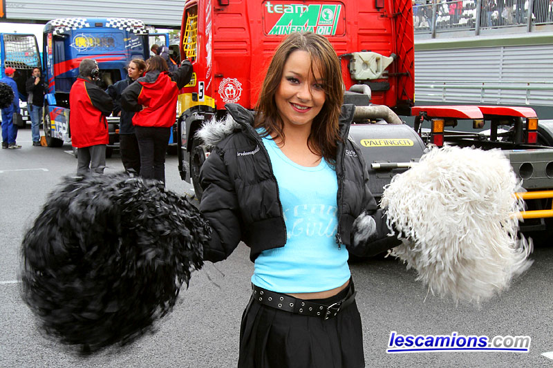 Grid girl - Magny-Cours 2010